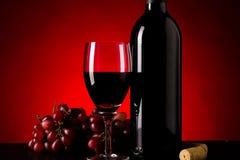 美妙的意大利酒 免版税库存照片