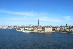 美妙的斯德哥尔摩 库存照片