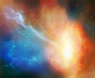 美妙的星云 库存照片