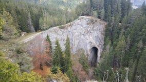 美妙的桥梁自然曲拱 免版税库存图片