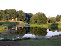美妙的池塘 免版税库存照片