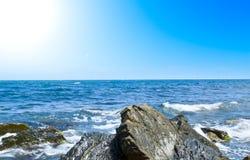 美妙的海岸线 免版税图库摄影