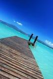 美妙的海滩 图库摄影