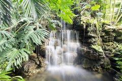 美妙的瀑布 库存图片