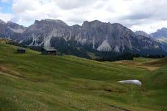 美妙的白云岩山风景 库存照片