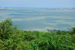 美妙的自然场面在Hatyai 免版税库存照片