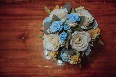 美妙的豪华婚礼花束 库存照片
