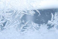 美妙的霜 库存图片