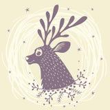 美妙的鹿 免版税库存照片