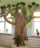 美妙的结构树 免版税库存图片