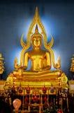 美妙菩萨的雕象 库存照片