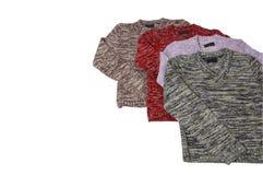 美妙2四件的毛线衣 免版税库存照片