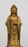 美妙Guan Yin的雕象 库存照片