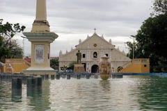 美岸殖民地大教堂在美岸,菲律宾 图库摄影