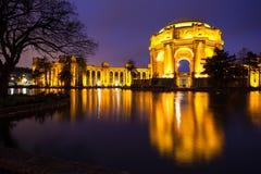 美术宫殿  库存图片