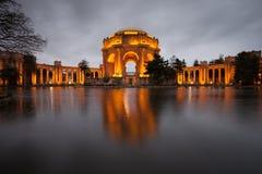 美术宫殿  库存照片