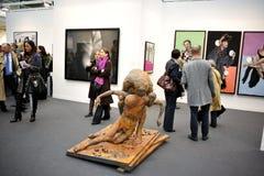 美术画廊人访问 库存照片