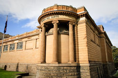 美术画廊新南威尔斯 库存照片