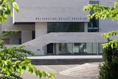 美术画廊立陶宛博物馆国民 免版税库存照片