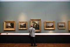 美术画廊 免版税库存照片