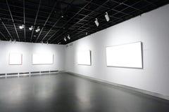 美术画廊 库存图片