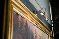 美术画廊显示 图库摄影