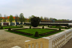 美泉宫庭院-维也纳 免版税库存图片
