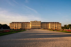 美泉宫,维也纳 库存照片