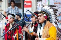 美洲印第安人伊斯坦布尔 免版税库存图片