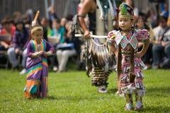 美洲印第安人北部战俘哇 图库摄影