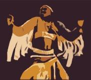 美洲印第安人当地人 皇族释放例证