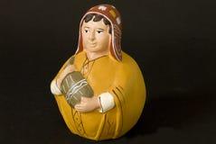 美洲印第安人艺术 免版税库存照片