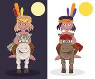 美洲印第安人 图库摄影