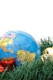 美洲圣诞节主题世界 免版税库存照片