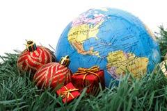 美洲圣诞节主题世界 免版税库存图片