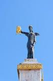 美狄亚雕象在巴统 佐治亚 免版税库存照片
