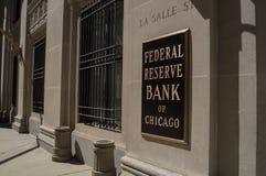 美联储银行 库存照片