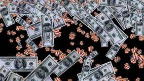 从美金的金钱雨 股票录像