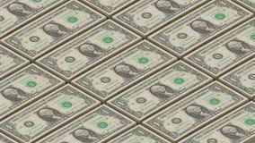 美金金钱背景 乔治・华盛顿打印金钱圈画象  库存例证