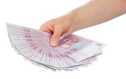 美钞保证金发薪日成功 免版税图库摄影