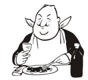 美食术王子 免版税库存照片