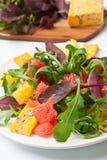 美食的健康沙拉 库存图片