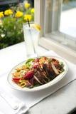 美食的午餐沙拉 免版税图库摄影