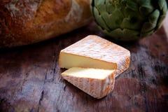 美食的干酪 免版税库存图片