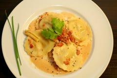美食的意大利意大利面食 免版税图库摄影