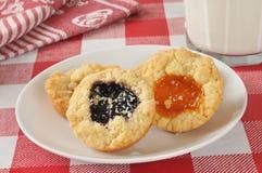美食的曲奇饼 免版税库存照片