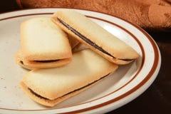 美食的曲奇饼 免版税图库摄影