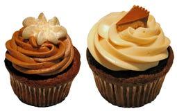 美食的杯形蛋糕 免版税库存图片