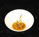 美食的汤蕃茄 免版税库存照片