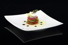 美食的沙拉蔬菜 免版税库存照片